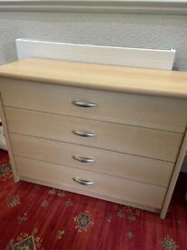 3 drawer unit