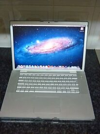 "MacBook Pro 15"", 2.16Ghz, 3GB RAM, 160GB HDD **No Charger** OSX 10.7.5"