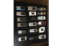 Collection of Nokia Phones