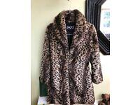 Women's faux fur coat new for sale