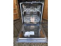 Dishwasher, integral style