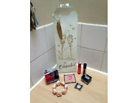 Gold/brown make up & accessory bundle ALL BRAND NEW!!!!