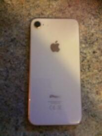 iPhone 8 Rose gold (immaculate condition)