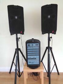 Fender Passport 500 Pro Amplifier with Stands
