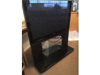 "For Sale Panasonic TH-42PX7OBA 42"" Plasma TV on Stand"