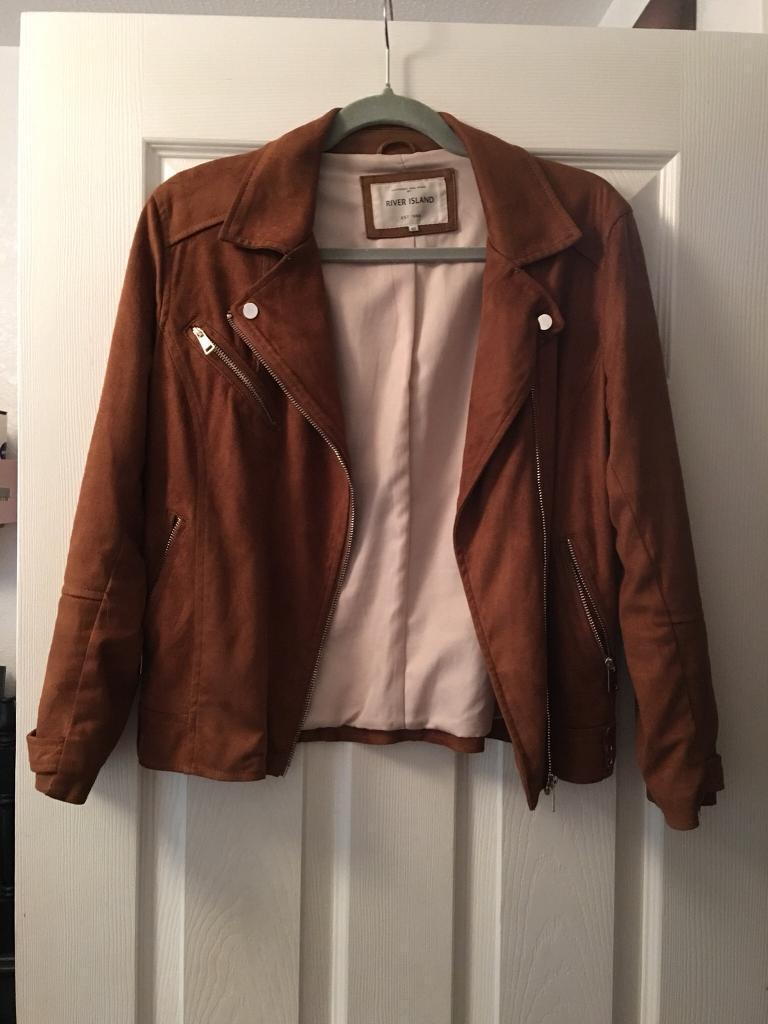 River island suede jacket
