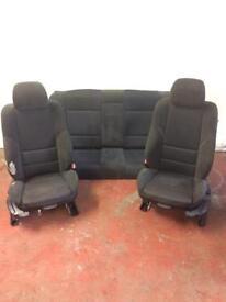 Bmw E46 3 Series 330i Msport Seats 2003 plate