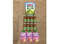 Hipp Organic Spag Bol + Heinz Fruit & Veg Spring Water + Super Yummies £12ovno