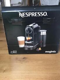Nespresso CitiZ magimix coffee machine.