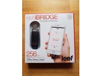 Leef iBridge 256gb USB memory stick for Apple Ipad, Ipod and Iphone