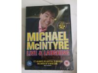 Michael McIntyre dvd new in sealed case,