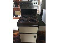 Freestanding Electric Double Fan Oven 4 ring Belling Executive Cooker