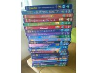 21 original disney dvds 1 is blu ray