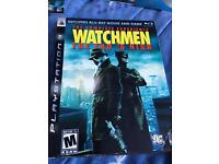 Watchmen PS3 game and DVD