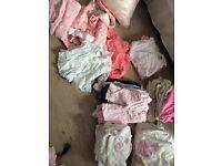 Baby girls 3-6 months