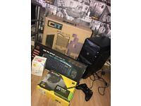 ULTRA GAMING PC Win 10, 8gb, 1tb, Intel I5, 128gb Ssd, 4gb Nvdia Graphics