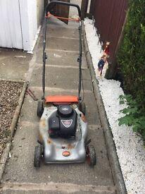 Flymo Petrol lawnmower fully working