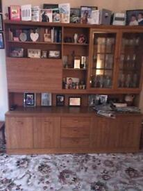 FREE - Wooden cabinet set (Collection Only)