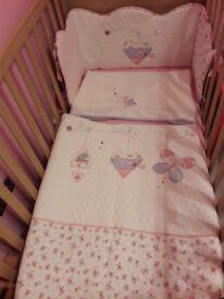 Cot/Cotbed Bedding Set