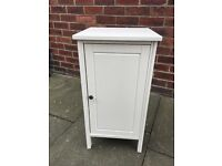 White IKEA bedside table excellent condition