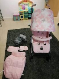 my babiie stroller butterfly