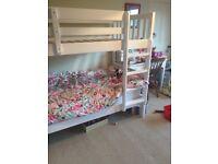 Bunk beds - white wooden - John Lewis