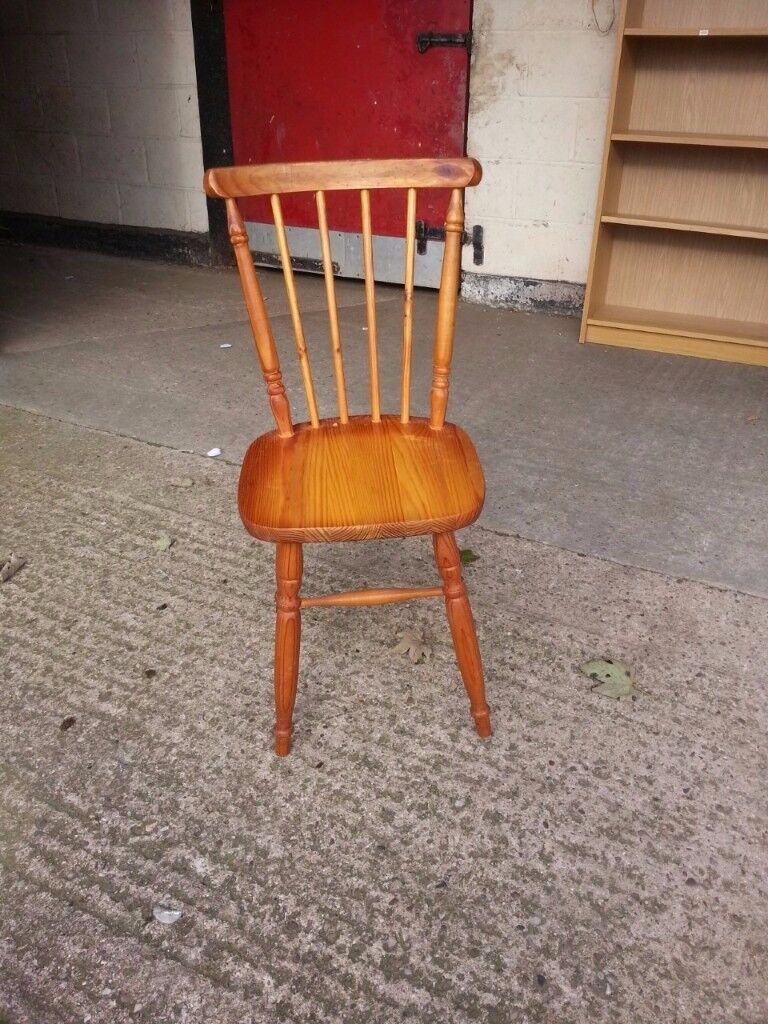 Single Wood Country Style chair Delivery Available
