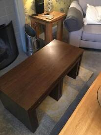 Coffee Table with 2 smaller tables - Next Mango