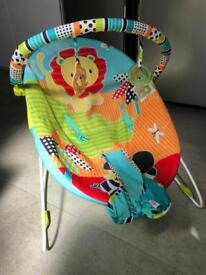 Bright Starts Baby Bouncer Chair with vibrate option