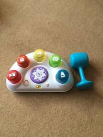 Fisherprice tappin' beats bench