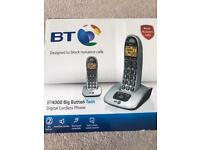 BT 4000 Big button twin cordless phone