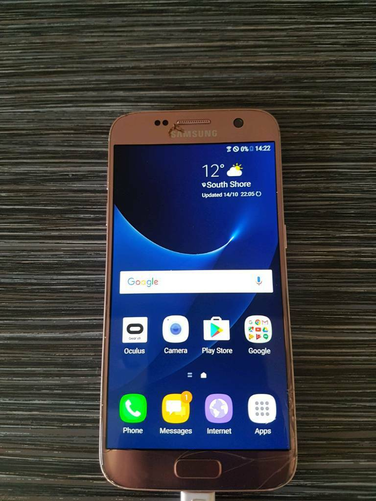 SAMSUNG S7 ROSE GOLD 32 GB UNLOCKED