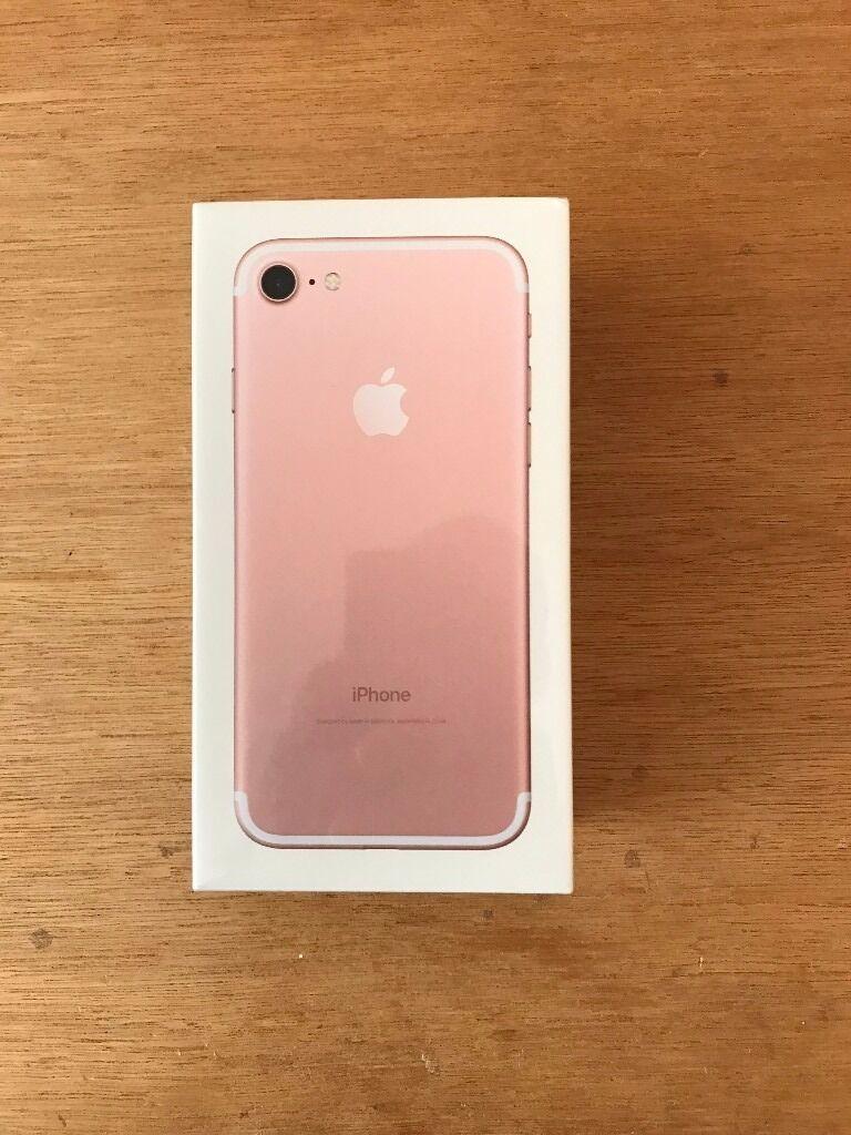 flash sale brand new sealed apple iphone 7 32gb rose gold. Black Bedroom Furniture Sets. Home Design Ideas