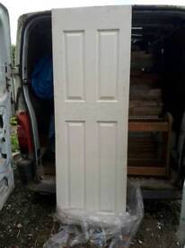 Fire resistance 4 panel door brand new