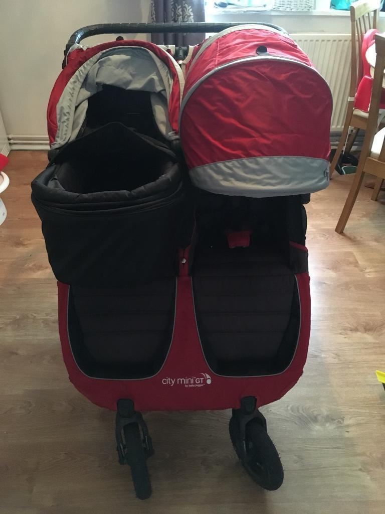 Baby Jogger City Mini Gt Double With Carrycot In Norwich Norfolk Gumtree