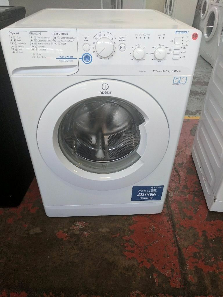 Indesit Washing Machine (7kg6 Month Warrantyin Liverpool City Centre, MerseysideGumtree - Indesit Washing Machine (7kg, 1600 spin,) (latest model.) Factory Refurbished. Excellent Condition 6 Month Warranty Free Local Delivery Removal Of Old Appliance Many Makes and Models Liverpool Appliances 25 County Road Walton L4 3QA