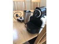 Nespresso delonghi coffee machine.