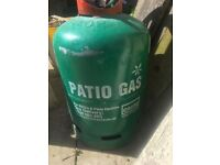 Patio gas 13kg full