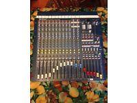 Allen and Heath WZ 14:4:2. 14 Channel Mixing Desk