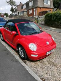 Vw beetle convertible NEW M. O. T