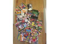 Football Bundle 50 plus items- DVDs,books,games, annuals, magazines etc