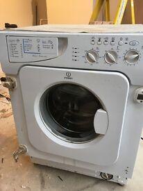 Indesit integrated washing machine