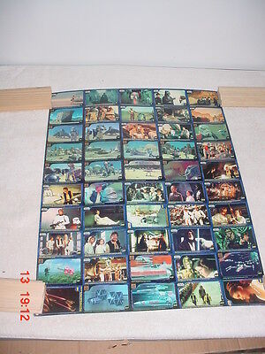 Star Wars New Zealand Confection Concepts RARE Uncut Trading Card Sheet #1