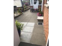 Used concrete paving flags for sale
