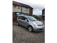 Nissan note for sale Kelty