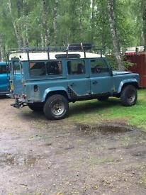 SOLD!! 1988 Land Rover 110 county 12 seater