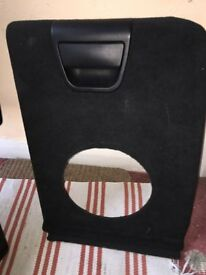 BMW X5 side boot compartment flap E53