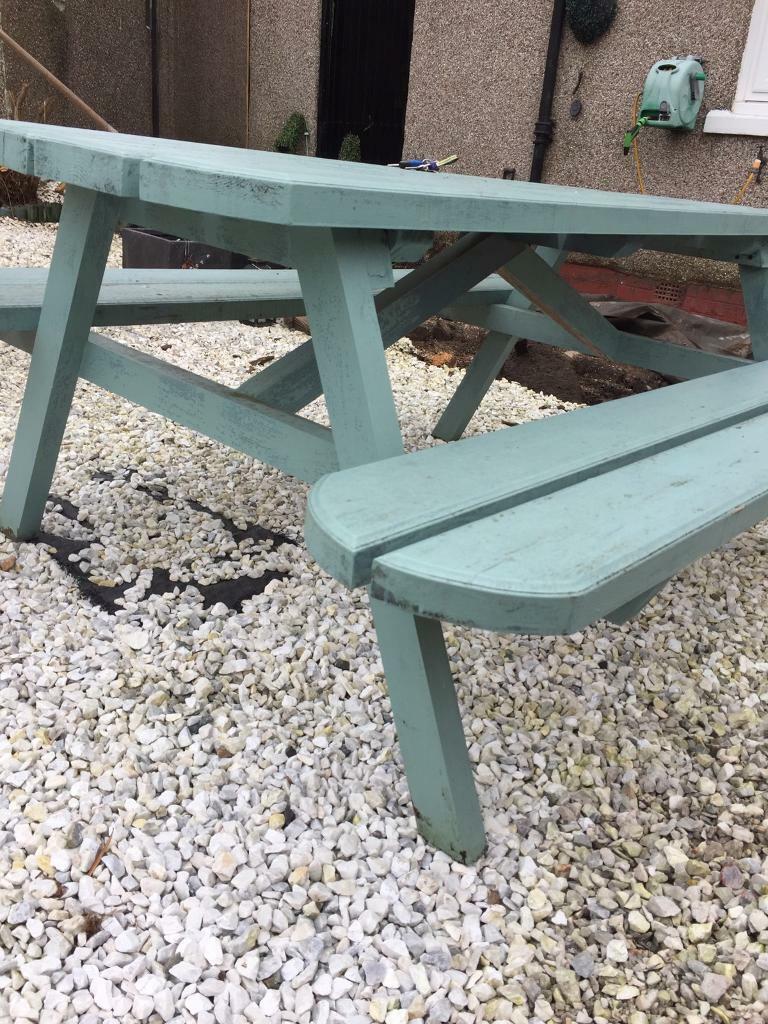 Garden Bench Picnic Table In Robroyston Glasgow Gumtree