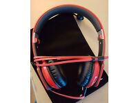 Noontec ZORO Headphones - red