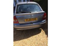 VAUXHALL ASTRA 1.6 2004 SILVER AUTOMATIC PETROL 87000MLS MOT FEB 2018 GOOD RUNNER NEW CAM BELT